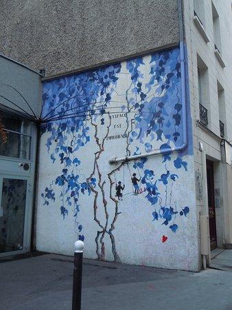 Fresque Jardin Majorelle