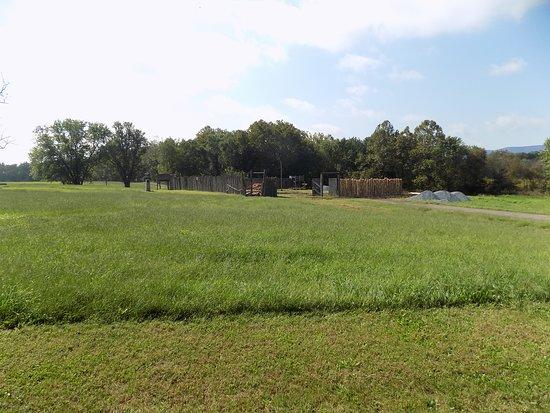 Fort Loudon, Pennsylvanie : Fort Loudoun under renovation