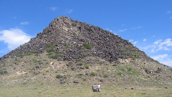"Walsenburg, CO: Huerfano Butte aka ""The Orphan"" east off I-25 south of Pueblo, Colorado"