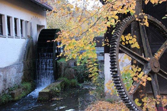 Wiesenttal, เยอรมนี: Malerische Landschaft an der Mühle