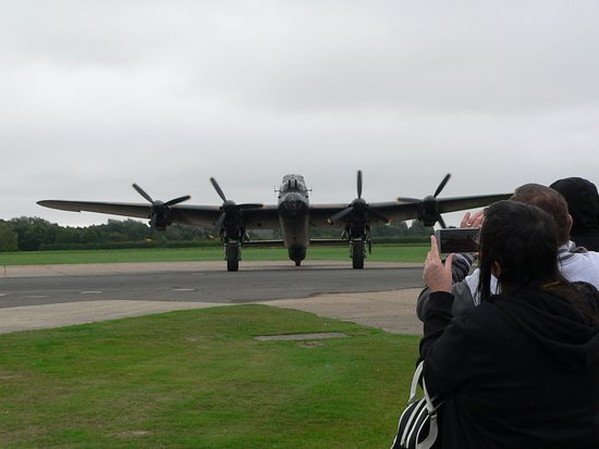 """East Kirkby, UK: """"Just Jane"""" returning from taxi run."""