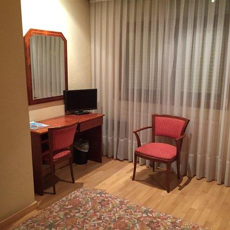 Eibar, Spanje: Hotel Unzaga Plaza