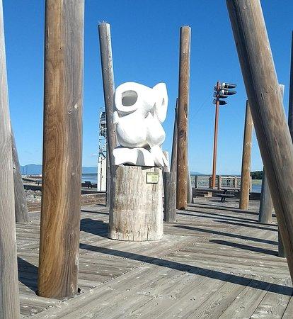 Montmagny, Canada: Sculpture in Park