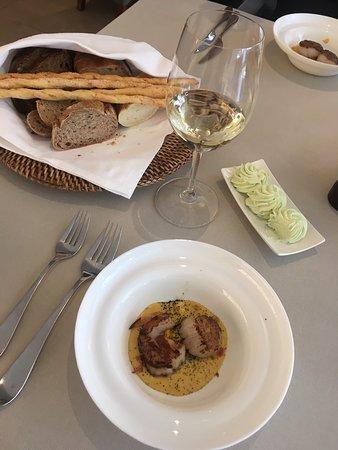Borgo Agnese: Гребешки с кукурузой
