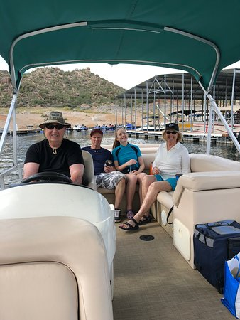 Tonto Basin, อาริโซน่า: Leaving the Marina for our adventure