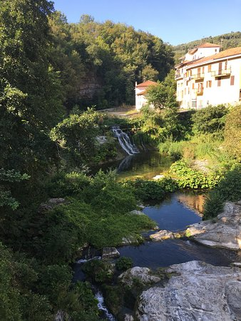 The river running through Borgomaro