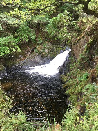 Devil's Bridge (Pontarfynach), UK: Another waterfall