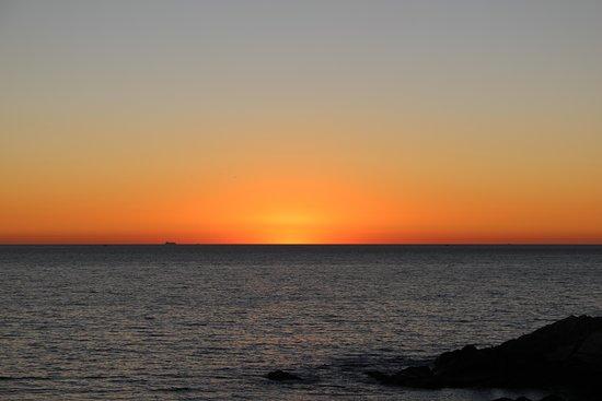 A Lanzada, España: Puesta de sol