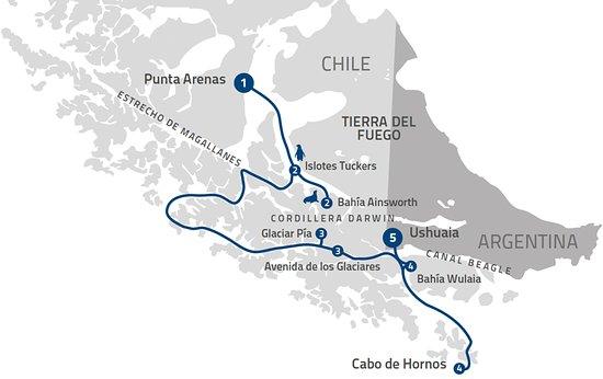 Bahia Ainworth Parque Nacional Alberto de Agostini. Provincia de Tierra del Fuego. XII Región Ch
