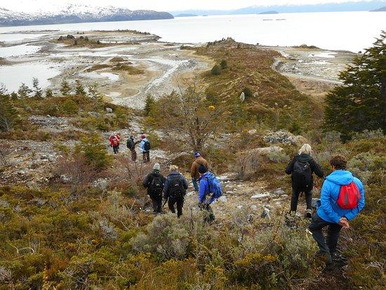 Tierra del Fuego, Cile: Caminata