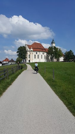 Steingaden, Germany: chegada de bicicleta