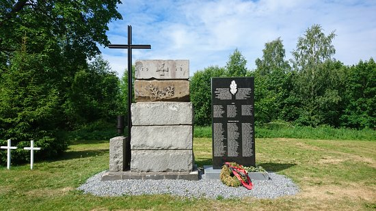 Monument to Local Finnish Soldiers Who Died in 1918
