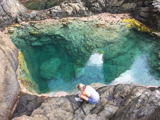 Petit Cul de Sac, St. Barthélemy: Petit secret tout à côté ... piscine naturelle !