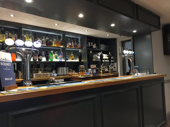 Martley, UK: A good and extensive range of local ales, quality lagers. I counted about fifteen different gins