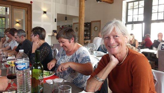 Douaumont, Frankreich: Une amie belge qui a prolongé un séjour pour partager cette journée.Elle a aimé son passage chez