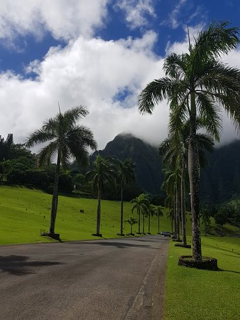 Kaneohe, HI: Road to the Temple