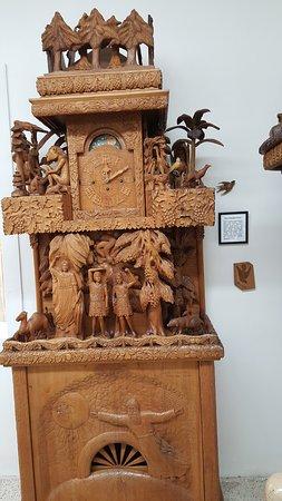 Spillville, IA: history clock