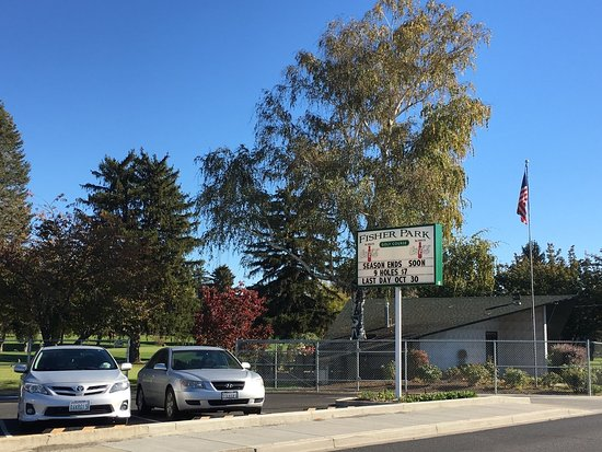 Γιακίμα, Ουάσιγκτον: Fisher Park Golf Course, Yakima Washington