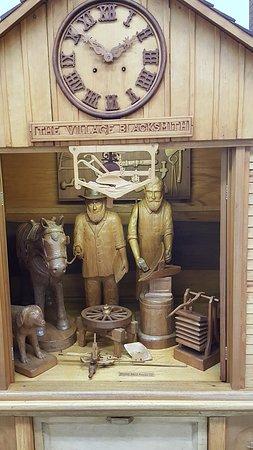 Spillville, IA: blacksmith clock