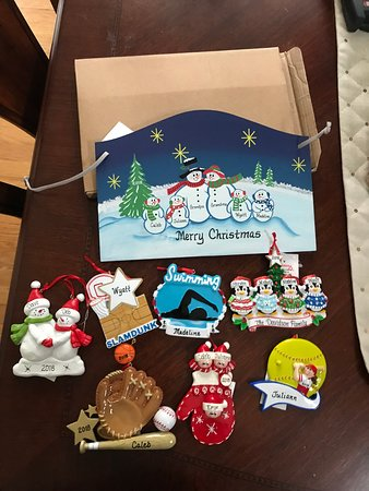 engraved ornaments picture of bronner s christmas wonderland