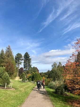 Goudhurst, UK: View from the park