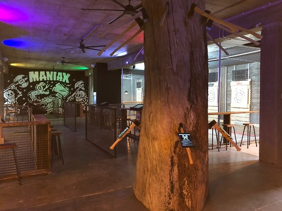 MANIAX Axe Throwing - Melbourne