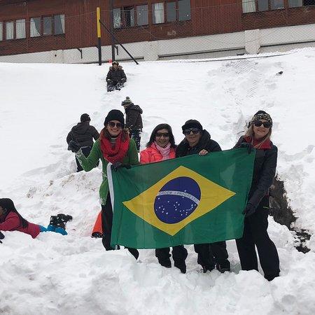 Valle Nevado, Chile: Lugar incrível , minha primeira vez na neve , todos que forem para o Chile deve fazer esse passe