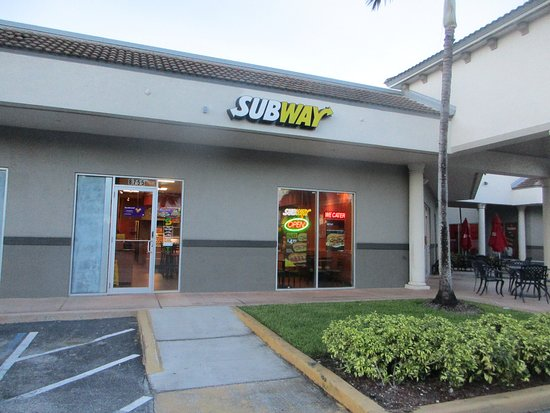 Cooper City, Флорида: Subway 8755 Stirling Road