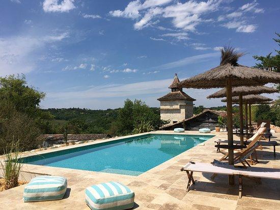 Pella Roca, Cabane & Spa en Quercy