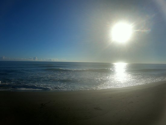 Early morning at Gandoca beach