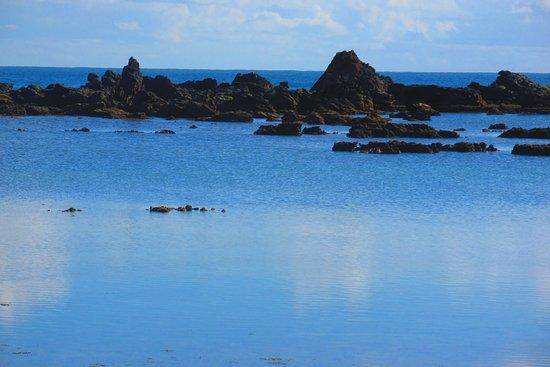 Segunda Praia: maré subindo na 2ª praia