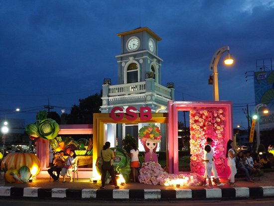 Surin Circle Clock Tower