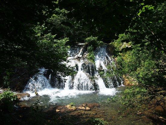 Lovely waterfalls near Malko Tarnovo, Bulgaria