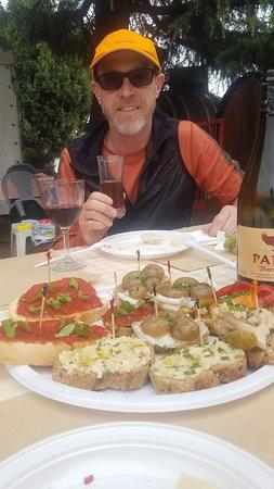 Panil Beer - Birrificio Torrechiara: The onions were awesome! Everyting was awesome!