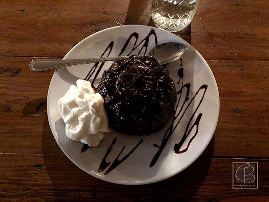 Bomoseen, เวอร์มอนต์: lava cake