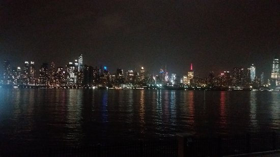 West New York, NJ: The view of the city across the river