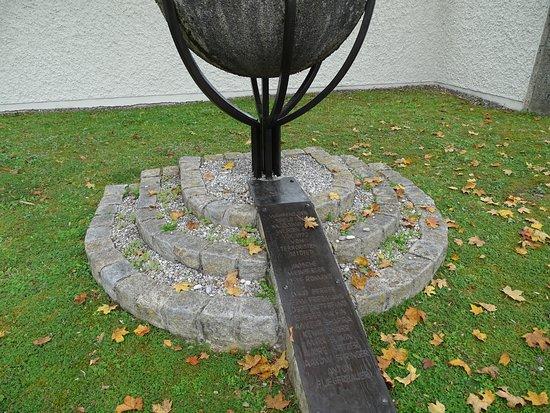 Das Denkmal zum Olympia-Attentat