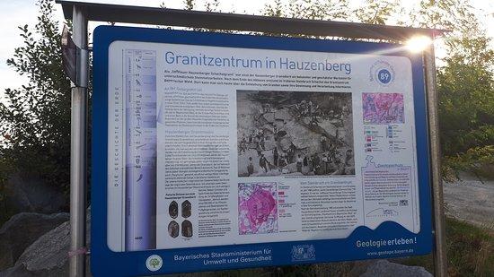 Hauzenberg, Deutschland: Hinweistafel