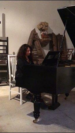 Moruzzo, Italie : Il pianoforte del folador