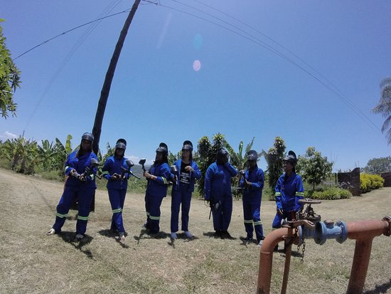 Lowveld Extreme Adventures: Girls out for Paintball game