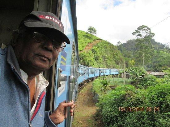 Gurudeniya, Sri Lanka: Train Journey to Bandarawela