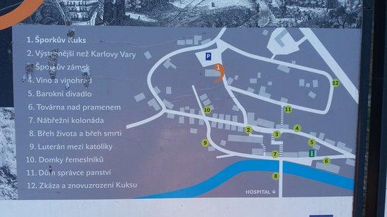 mapa Kuksu