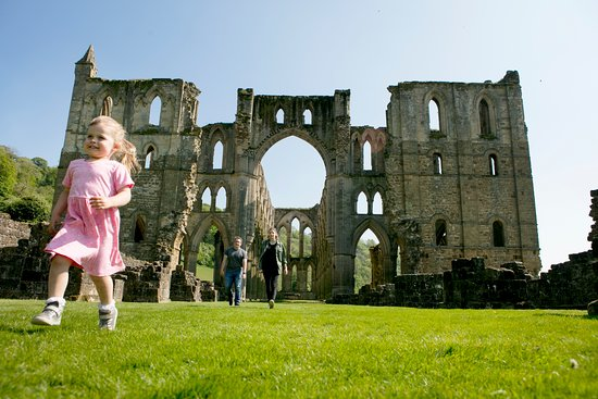 North York Moors National Park, UK: Rievaulx Abbey Photo by Dan Prince