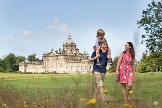 North York Moors National Park, UK: The South Lawn at Castle Howard Photo by Andy Bulmer