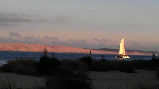 Claouey, Frankrike: Dune du Pilat ....