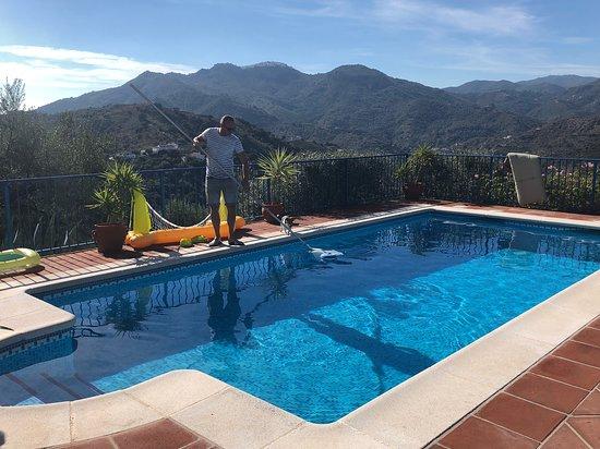 Riogordo, Spanyol: Zwembad2