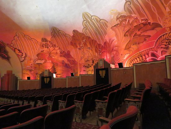 Catalina Island Casino: The Beautiful Hand-painted Murals
