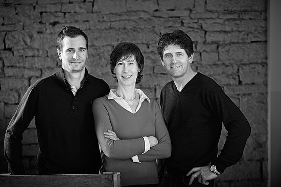 Gye-sur-Seine, Frankrike: Jeremy, Jennifer and Thierry Fluteau
