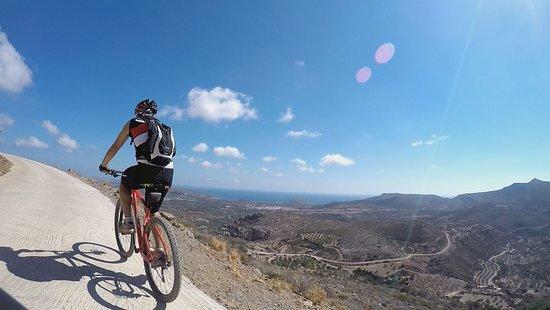 Palaikastron, Yunani: Schöner Ausblick während der Tour
