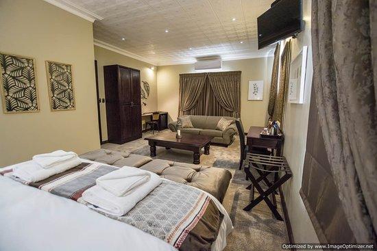 Jan Kempdorp, جنوب أفريقيا: Room 7 Executive King Room